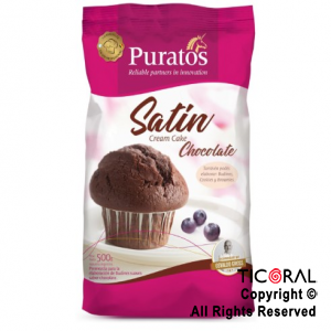 PREMEZCLA SATIN CREAM CAKE CHOCOLATE X 500GR X 1