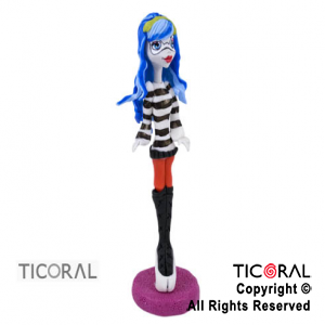 ADOR CHICA MONSTER HIGH GHOULIA A. PORC FRIA x 1