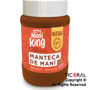 MANTEQUILLA DE MANI CHOCOLATE X 350GR KING x 1