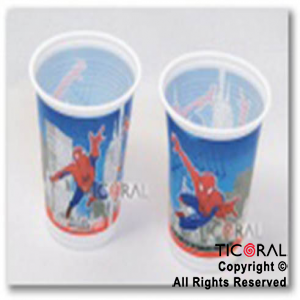 SPIDERMAN VASOS x 10