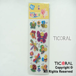 STICKER HS5652-3 MARIPOSAS GIBRE (23X9CM) x 12