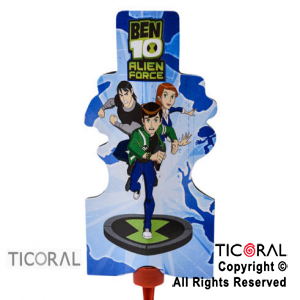 BENGALA 3D BEN 10 ALIEN FORCE x 1